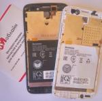 Рамка под дисплей для Lenovo A516