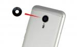 Стекло камеры для Meizu Mx6