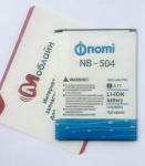 Батарея NB-504 для Nomi i504