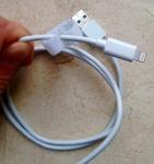 Усиленный usb-кабель для Iphone 5,5s,5c,6, Ipod, Ipad