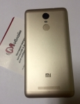 Задняя крышка Gold для Xiaomi Redmi Note 3