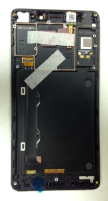 Экранный модуль (LCD и touchscreen) для Lenovo A7000
