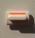Кнопка вибро (белая) для iphone 5C