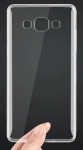 Прозрачный силиконовый бампер для Samsung A3