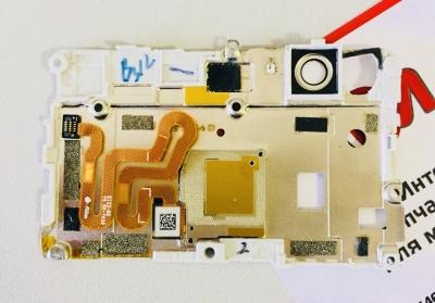 Задняя рамка с датчиком отпечатка пальцев для Huawei P9 lite