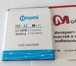 Батарея для Nomi i401 Colt