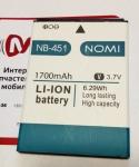 Батарея NB-451 для Nomi i451