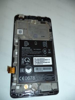 Lcd+touch в сборе для Lenovo A536