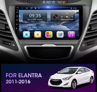 Автомагнитола 9' Android 9.0 Wi-Fi 2/32 для Hyundai Elantra I35 2011-2013