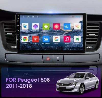 Автомагнитола 9' Android 10.0 Wi-Fi 4/64 для Peugeot 508 2011-2018