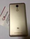 Задняя крышка Gold для Xiaomi Redmi Note 3