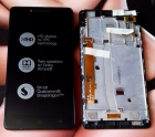 Дисплей в пластиковой рамке для Lenovo A6000, K30-T