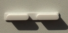 Кнопки громкости (белые) для iphone 5C