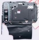 Задняя рамка со шлейфом NFC и стеклом камеры для HUAWEI P Smart S (AQM-LX1) Original