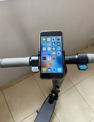 Металлический держатель телефона для электросамоката Xiaomi M365/M365 pro, Ninebot ES1, ES2, ES3, ES4