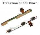Шлейф кнопок громкости и включения Lenovo K6(K33a48)/K6 Power(K33a42)