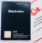 Аккумуляторная батарея (2500mah) для Blackview A30 (Original)