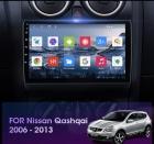 Автомагнитола 9' Android 9,0 Wi-Fi 4G 2/32 для Nissan Qashqai J10