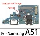 Нижняя плата для Samsung A51 (A515FN)