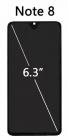 Дисплейный модуль для Xiaomi Redmi Note 8