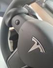 Противовес черный на руль автопилот для TESLA Model 3