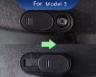 Пластиковая защита камеры для TESLA Model 3